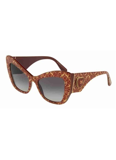 Dolce&Gabbana Dolce & Gabbana 4349 32068G 54 Ekartman Kadın Güneş Gözlüğü Kırmızı